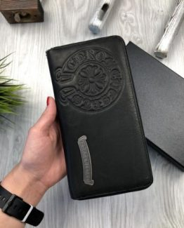 Бумажник Chrome Hearts кожа 000.4578 фото