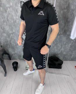 Мужской костюм футболка и шорты Kappa фото
