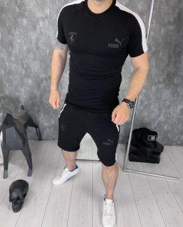 Мужской костюм футболка и шорты Puma фото