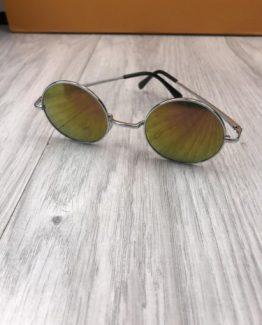 Мужские круглые очки Ray Ban фиолетовые фото