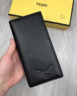 Мужское портмоне Fendi кожаное фото