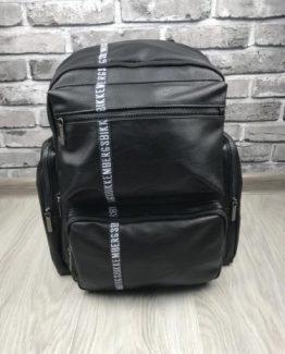 Мужской кожаный рюкзак Bikkembergs фото