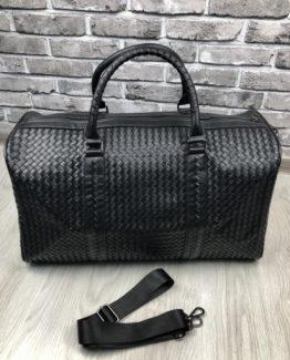 Мужская дорожная сумка Bottega Veneta кожа фото