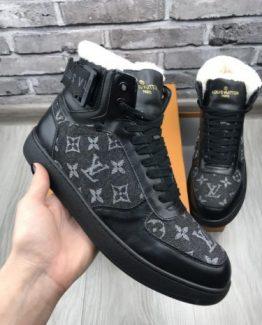 Мужские ботинки Louis Vuitton кожаные фото