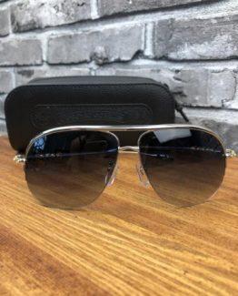 Брендовые очки авиаторы Chrome Hearts фото