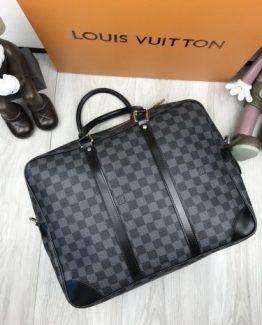 Мужская деловая сумка Louis Vuitton кожа фото