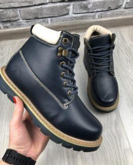 Мужские ботинки Heroway синие фото