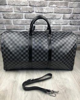 Мужская спортивная сумка Louis Vuitton кожа фото