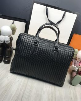 Мужская деловая сумка Bottega Veneta кожа фото