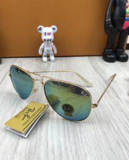 Мужские брендовые очки авиаторы Ray Ban хамелеоны фото