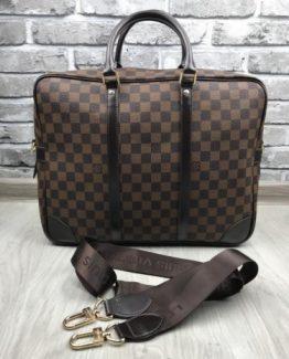Мужская деловая сумка Луи Виттон кожа фото