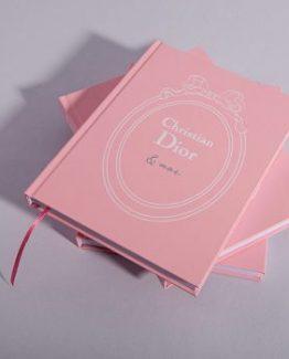 Брендовый блокнот Dior Peach розовый фото