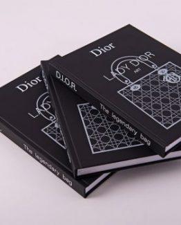 Брендовый блокнот Dior Black Mat черный фото