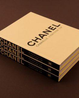 Брендовый ежедневник Chanel Gold золотистый фото