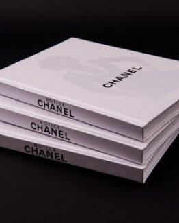 Брендовый ежедневник Chanel White silhouette белый фото