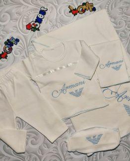 Комплект для новорожденных Armani из 5 предметов 000.4234 фото