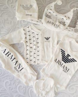 Комплект для новорожденных Armani 7 предметов 000.4288 фото