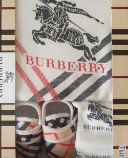Набор для новорожденных Burberry 3 предмета 000.4285 фото