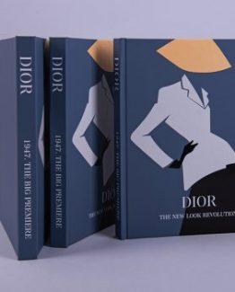 Брендовый ежедневник Dior Blue фото