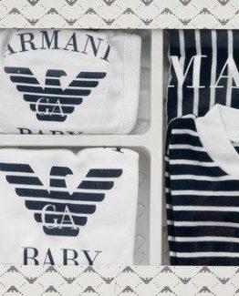 Комплект для новорожденных Armani белый 000.4296 фото