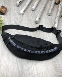 Мужская брендовая сумка на пояс Bikkembergs 000.4089 фото