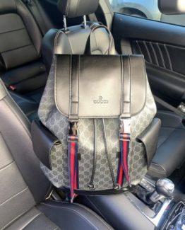 Мужские рюкзаки городские Гуччи из кожзама 000.4358 фото