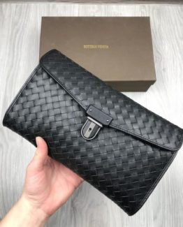 Мужской кошелек Bottega Veneta кожа 000.4554 фото
