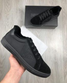 Мужские ботинки Armani из текстиля 000.4792 фото