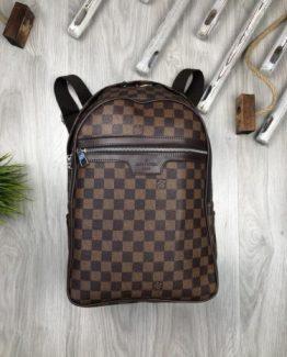 Мужские рюкзаки городские Louis Vuitton коричневые 000.4361 фото