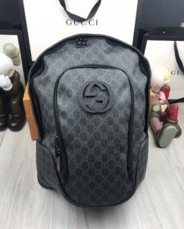 Мужские рюкзаки городские Gucci черный 000.4366 фото
