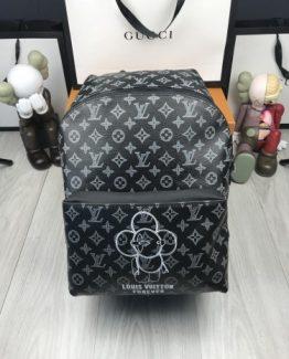 Мужские рюкзаки Louis Vuitton кожаные 000.4418 фото
