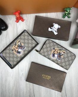 Мужской кошелек на молнии Gucci 000.4665 фото