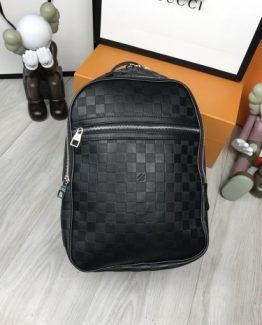 Мужские рюкзаки городские Louis Vuitton черные 000.4362 фото