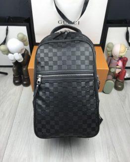 Мужские рюкзаки городские Louis Vuitton черный 000.4363 фото