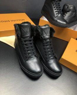Мужские ботинки Louis Vuitton кожа 000.4796 фото