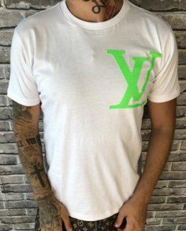 Мужская футболка LOUIS VUITTON белая 000.5092 фото