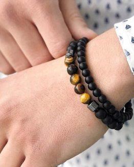 Мужские браслеты из натуральных камней INSPIRE 000.5170 фото
