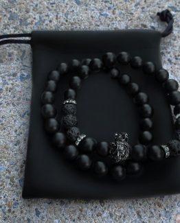 Мужские браслеты из натуральных камней KING LIONEL 000.5182 фото
