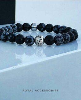 Мужские браслеты из натуральных камней OMEGA 000.5176 фото