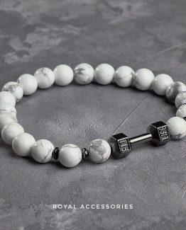 Мужские браслеты из натуральных камней FIT LIFE DARK 000.5169 фото