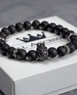 Мужские браслеты из натуральных камней KING LEONEL 000.5168 000.5168 фото