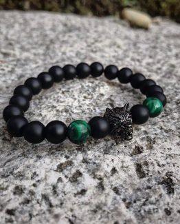 Мужские браслеты из натуральных камней MAD WOLF 000.5173 фото