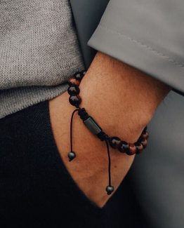 Мужские браслеты из натуральных камней BULL EYE 000.5172 фото